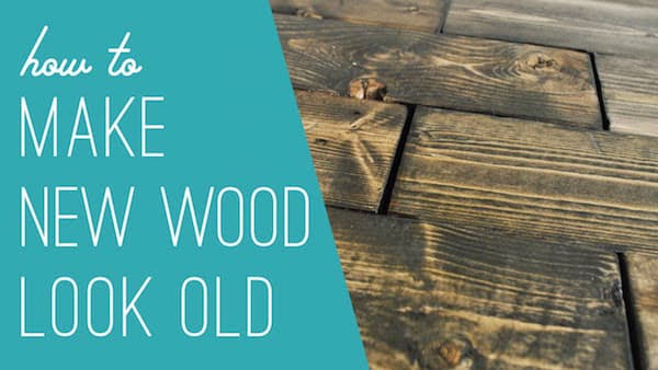 Wood Look Old With Baking Soda
